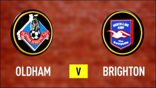 Oldham v Brighton