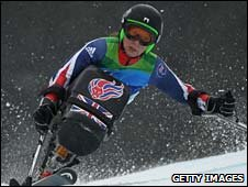 British sit-skier Anna Turney