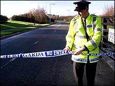 Irish police officer