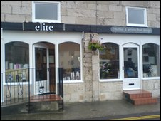 Elite hair salon on Portland, Dorset