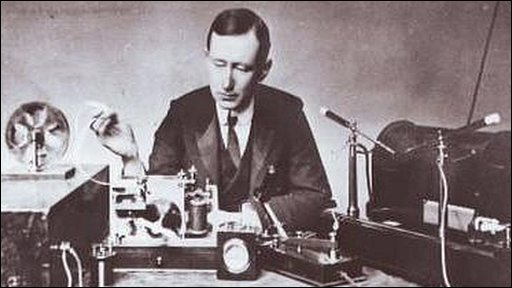 Marconi and equipment