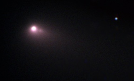 Image of Comet C2007 C3 taken using the Faulkes Telescope North. Image courtesy of Faulkes Telescope Project and LCOGT