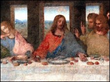 Leonardo Da Vinci's last supper painting