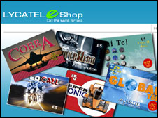 Lycatel website