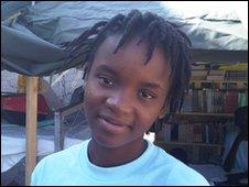 School Reporter Dyeanise in Haiti