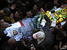 Funeral of Osayed Qadus 21 March 2010