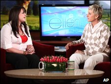 Constance McMillan on the DeGeneres show