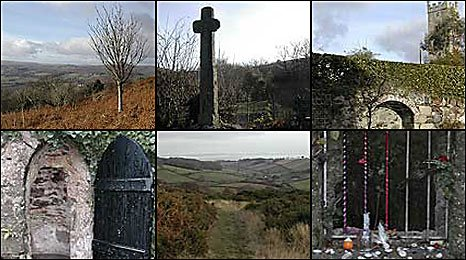 The six Holy well sites in Devon featured on this page