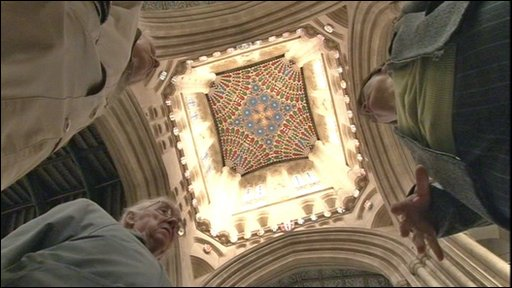 Vaulted ceiling at St Edmundsbury Cathedral
