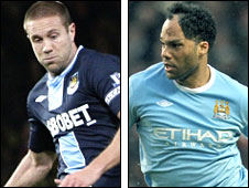 Matthew Upson and Joleon Lescott
