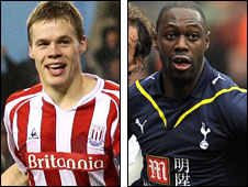 Ryan Shawcross and Ledley King