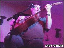 Malvern musician Vo Fletcher