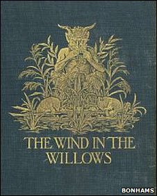 First Edition copy of Wind in the Willows