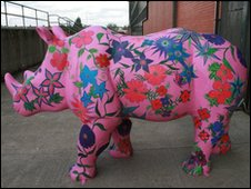 Fleur, designed and painted by Rosalind Hargreaves (pic: Rhino Mania)