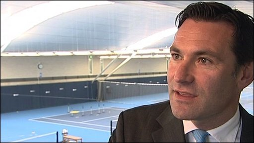 Lawn Tennis Association Chief Executive Roger Draper