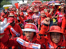 Red-shirt rally in Bangkok - 22 March 2010