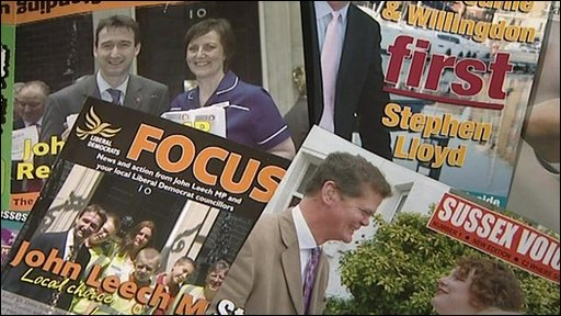 LibDem election message
