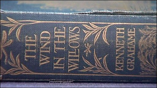 First edition copy of the Wind in the Willows