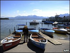 Archive photo of Chiemsee lake, Germany