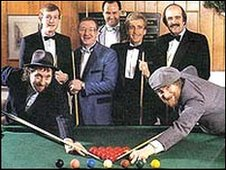 Chas and Dave line up for Snooker Loopy
