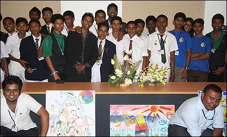 Students at the Sri Lanka Unites conference