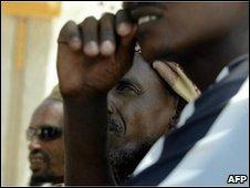 Ethiopian refugees, file image