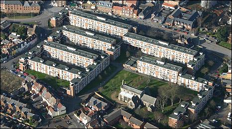 Hillington Square in King's Lynn