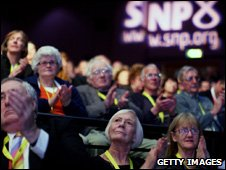 SNP conference gathering