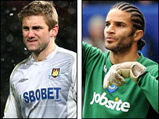Robert Green and David James