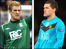 Joe Hart and Ben Foster