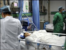 A child injured at the school in Nanping recovers in hospital, 24 March