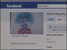 Alain Hegarty's Facebook page
