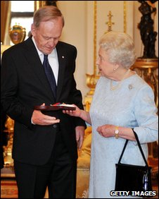 Jean Chretien and the Queen