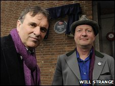 Squeeze stars Chris Difford (left) and Glenn Tilbrook.