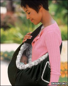 Infantino's SlingRider infant carrier (image: Infantino website)