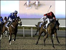 Horse racing in Dubai