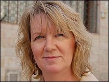 Patty Moss, Jewish American visiting Jerusalem