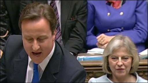 Cameron attacks Labour's budget