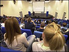 University lecture