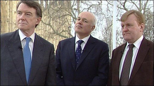 Mandelson, Duncan Smith and Kennedy