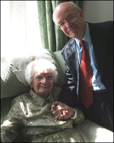 Roy Jenkins and Peggy Newell-Lewis