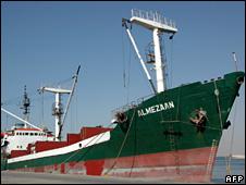 MV Almezaan (file)