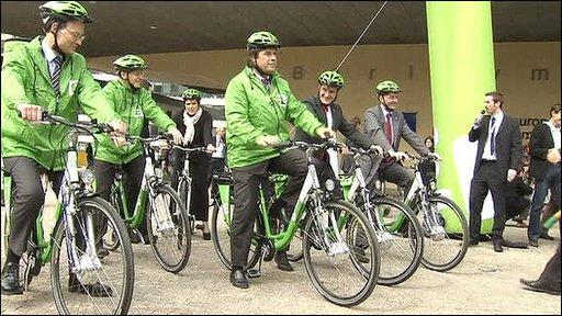 EU bike ride