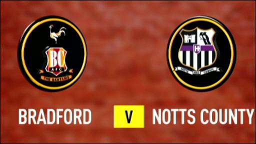 Bradford 0-0 Notts County