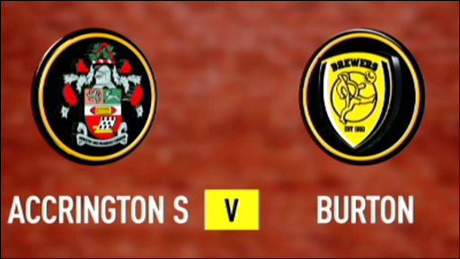 Accrington Stanley 0-2 Burton