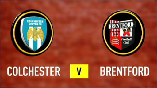 Colchester 3-3 Brentford