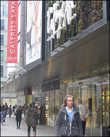 Galeries Lafayette department store in Berlin