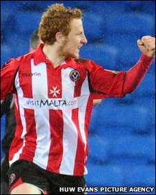 Stephen Quinn made the most of Sheffield United's only real attack