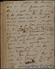 Dorothy Wordsworth's journal
