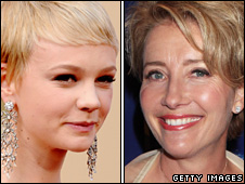 Carey Mulligan and Emma Thompson